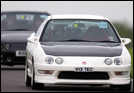 Me in the Integra Type R at Castle Combe